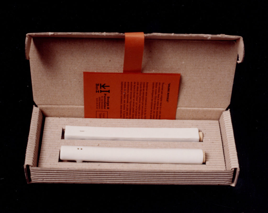 SALINE ROYALE, cadeaux de fin d'année pour le personnel du Conseil Régional de Franche Comté 1999.