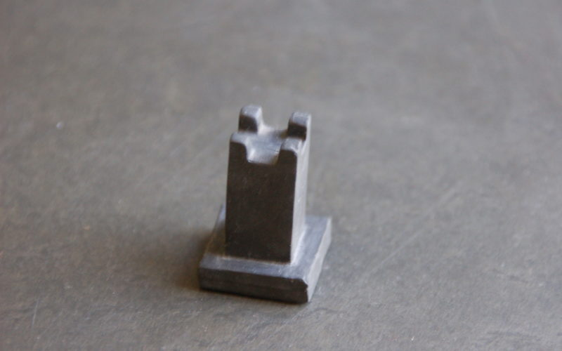Tour du jeu d'échecs de style Bauhaus design
