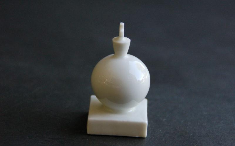 Jeu d'échecs- roi porcelaine blanche