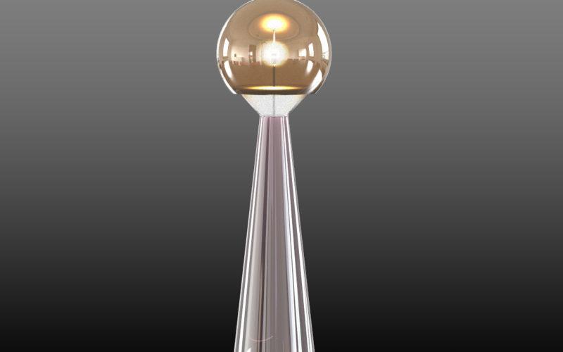 lampe en verre souflé (c) Bas van Zuijlen