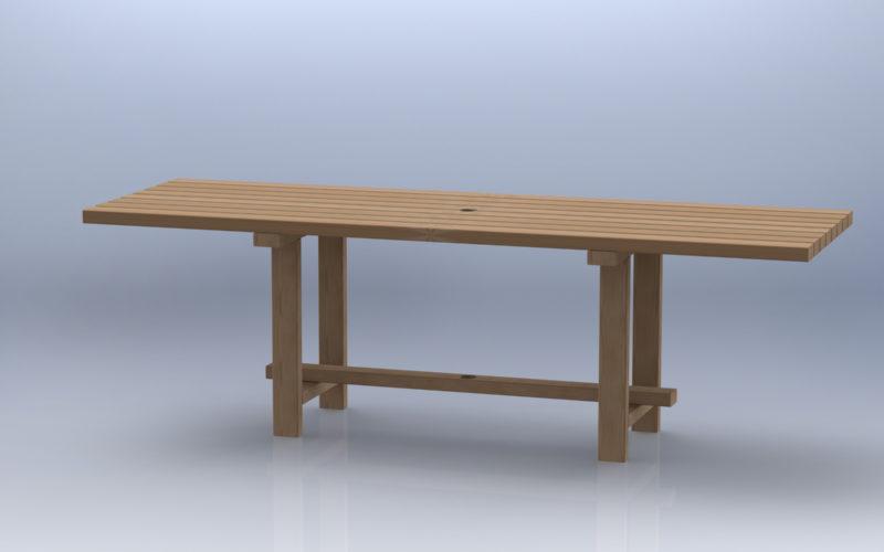 table en bois extérieure (c) Bas van Zuijlen
