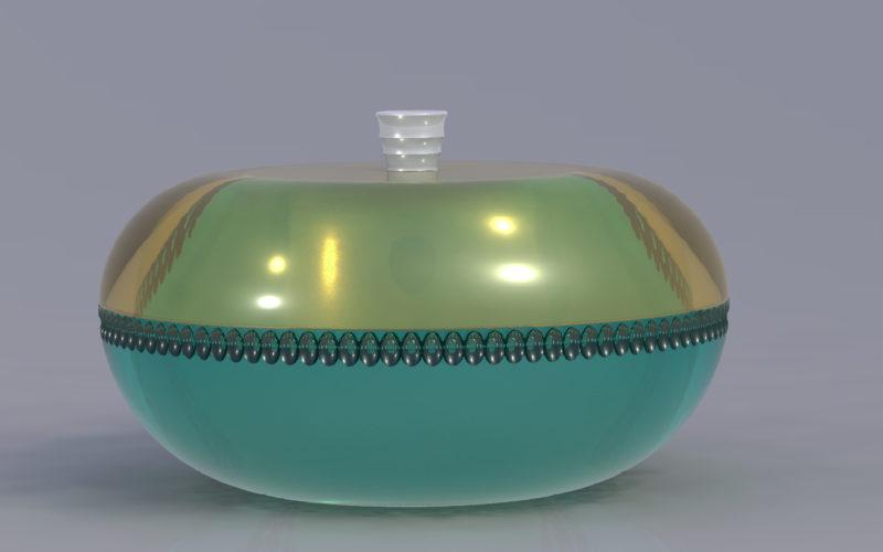 design : boite en verre (c) Bas van Zuijlen