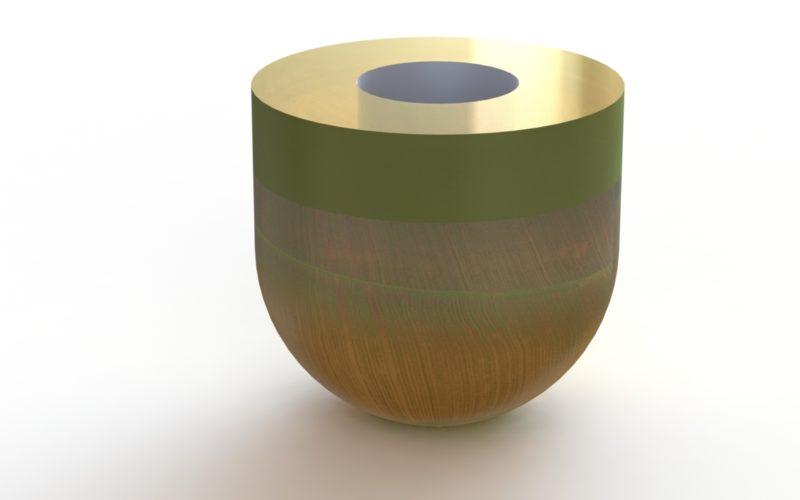 vase en cristal ciselé (c) Bas van Zuijlen