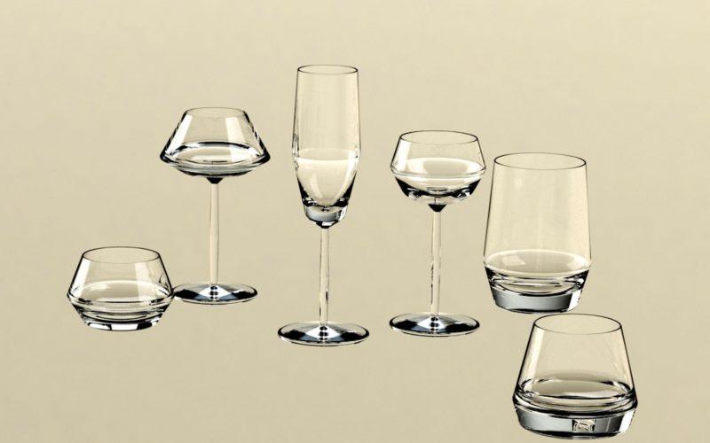 exemple de design : verres (c) Bas van Zuijlen